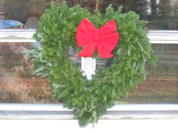 My favourite wreaths, however, are the hearts.